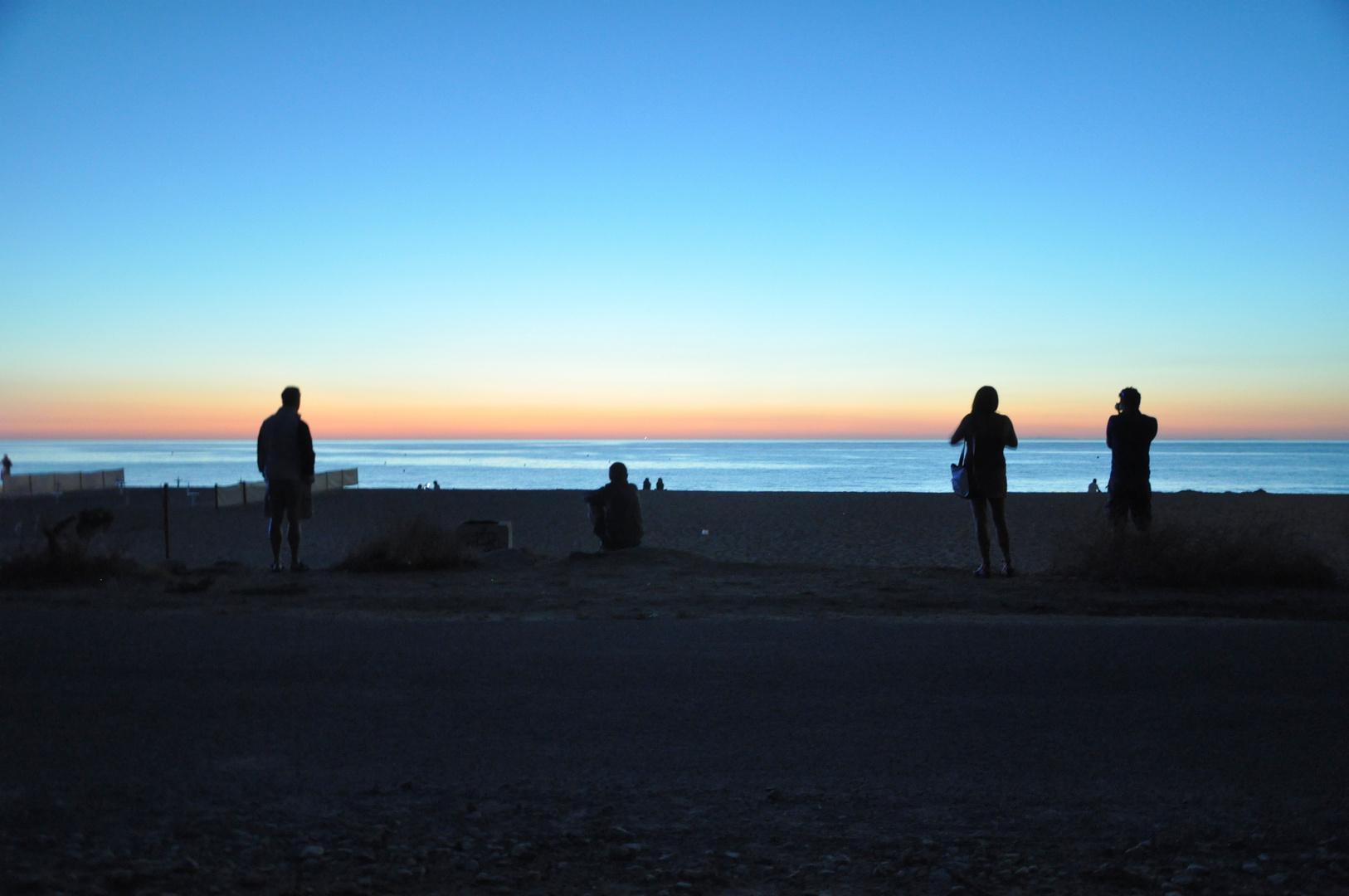 ... nach dem Sonnenuntergang