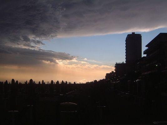 Nach dem Wolkenbruch