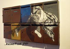 Nach der Post geschaut...