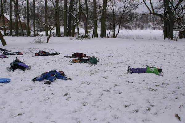 nach der schneeballschlacht