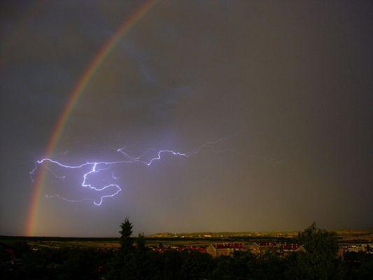 nach einem dieser heftigen Gewitter im Raum Eisenstadt