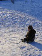 nach einem Tag im Schnee...