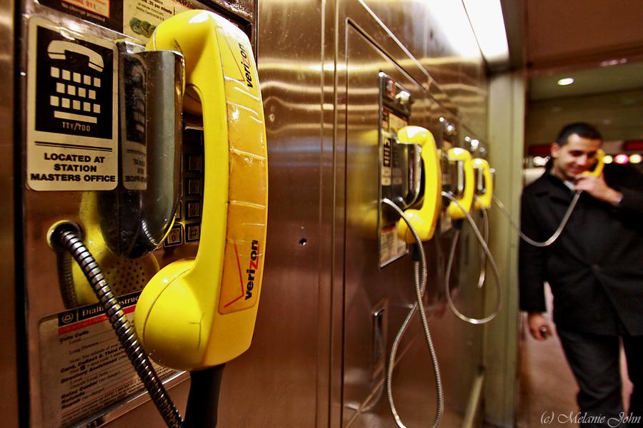 Nach Hause telefonieren...