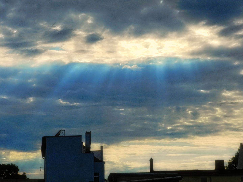 ...nach jedem Regen folgt die Sonne..