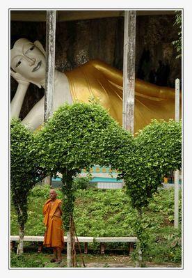 Nach langer Zeit, der erste Mönch