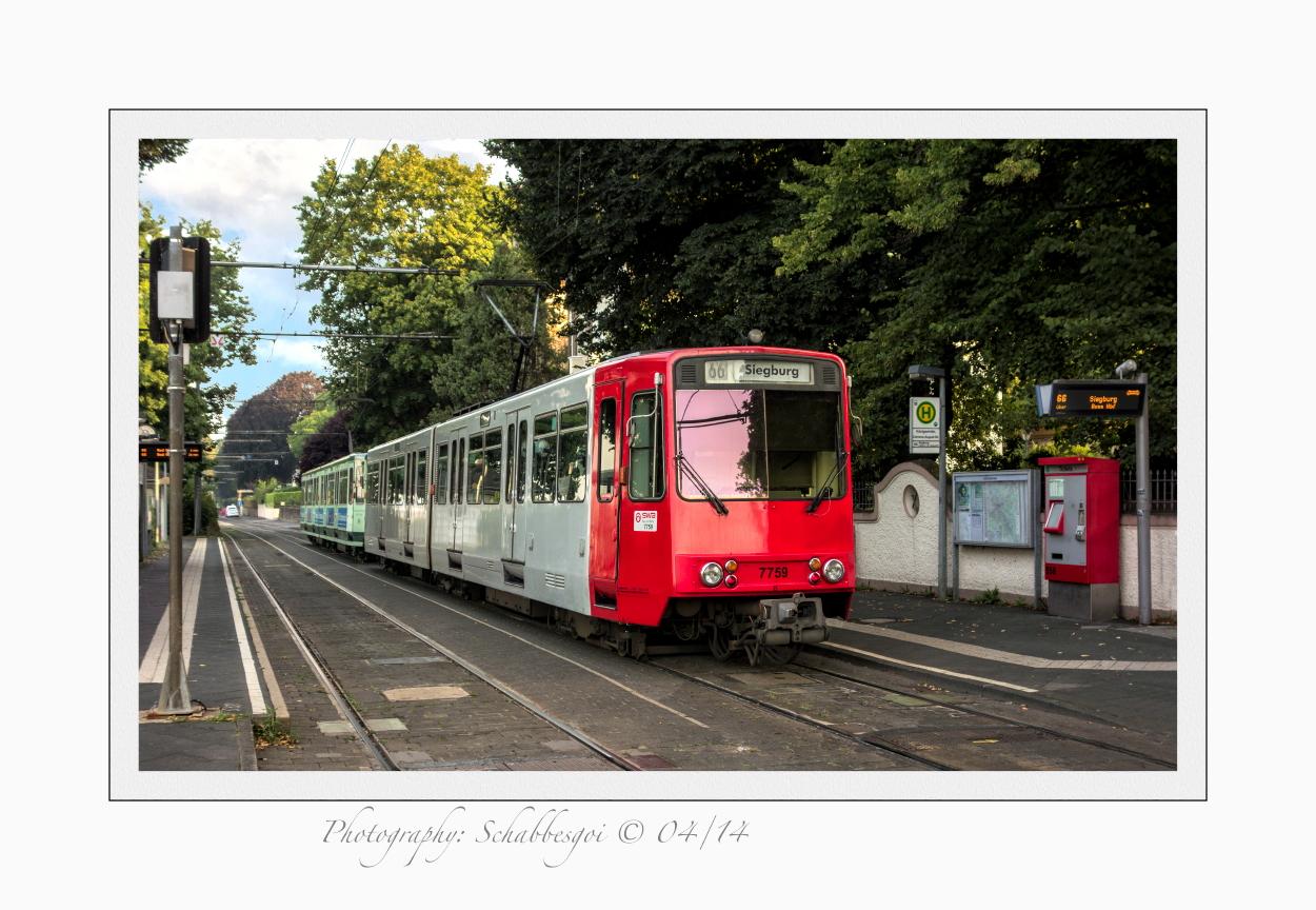 Nach Siegburg