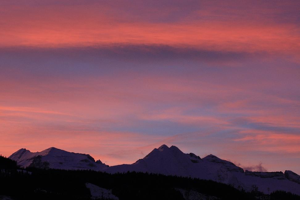 Nach Sonnenuntergang ...