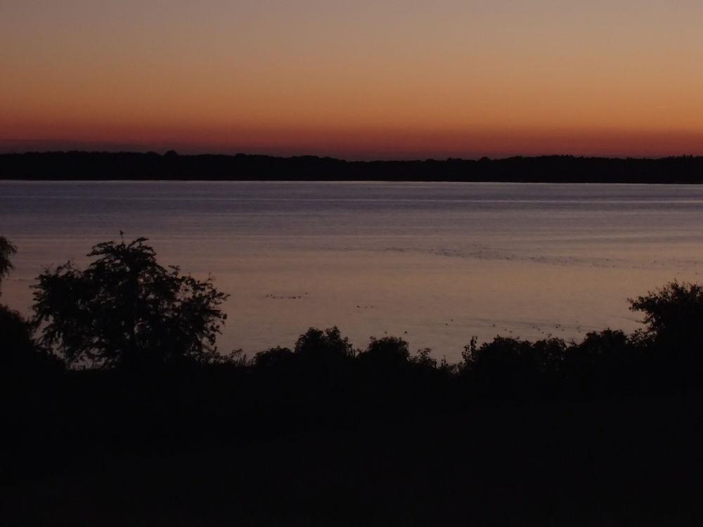 Nach-Sonnenuntergang am Plauer See