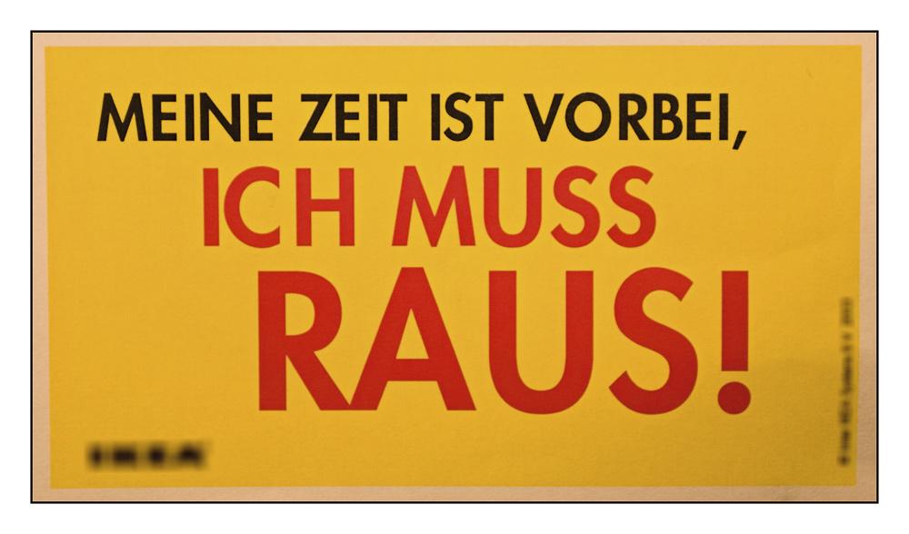 Nach10MinutenImGelbBlauenLaden@KasselDachteIch ....
