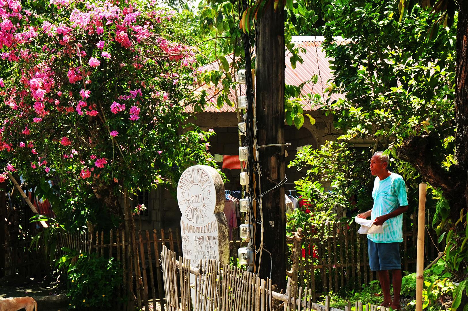 """"""" Nachbargespräch """" , San Joaquin - Pandan - Panay 2011"""