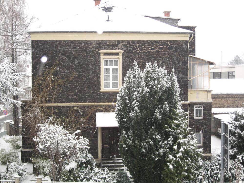 Nachbars Haus...