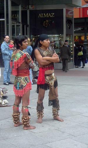 Nachfahren der Mayas oder was