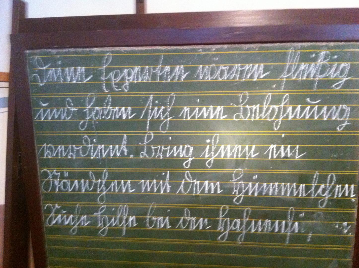 nachgefragt, wer kann das lesen?