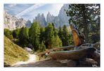 Nachlese Dolomiten - Am Brunnen