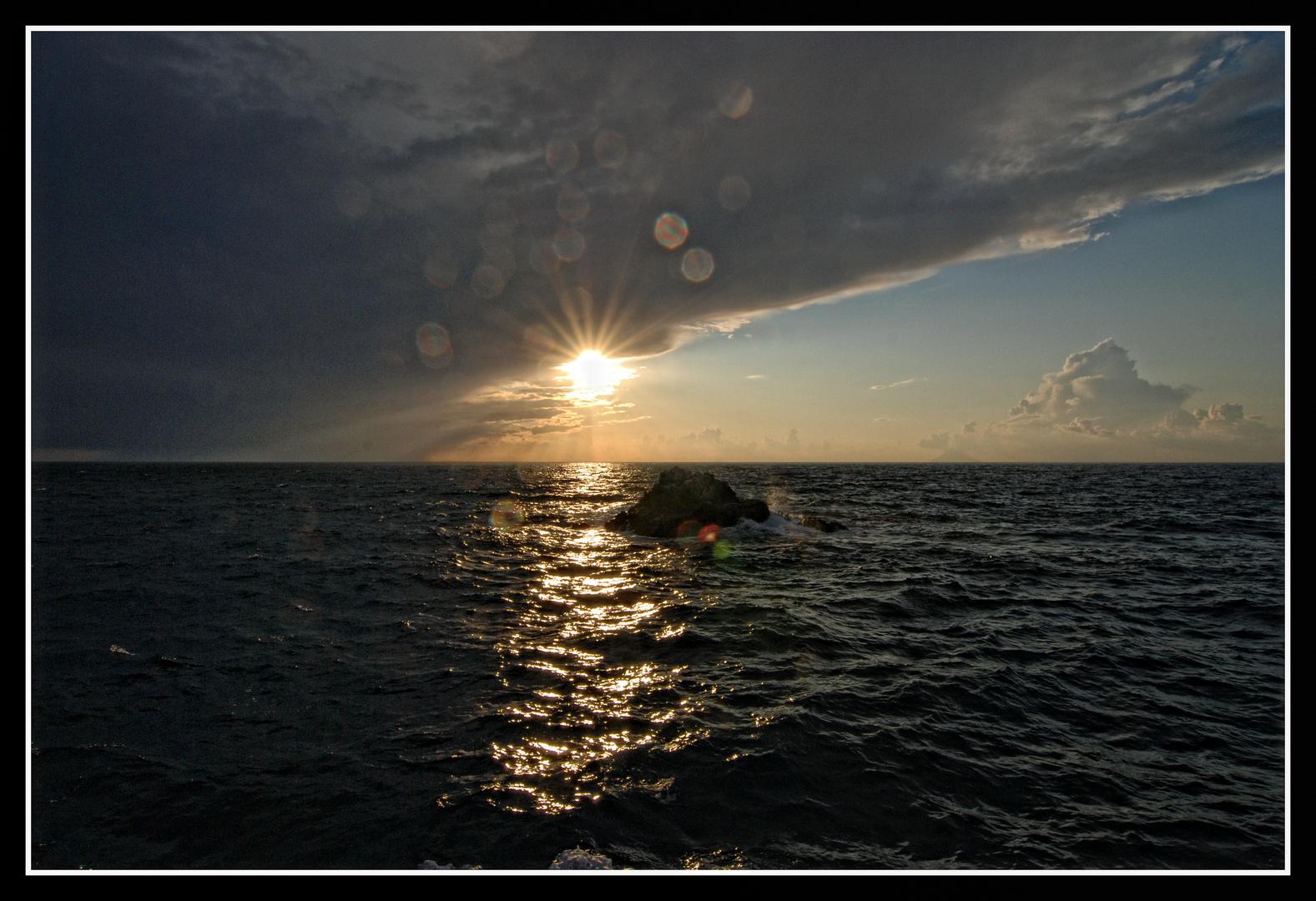 Nachmittag auf See