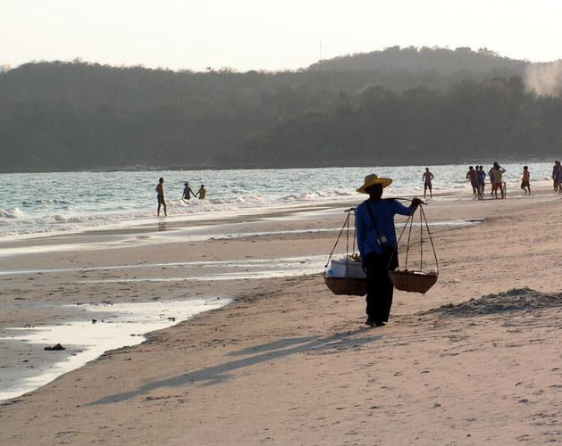 Nachmittags am Strand auf Koh Samet