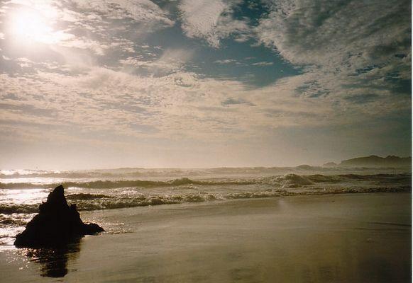 Nachmittags am Strand von Beachport (SA)