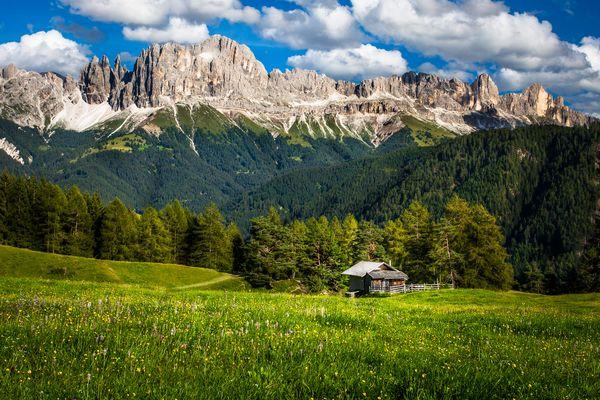 Nachmittags in den Dolomiten