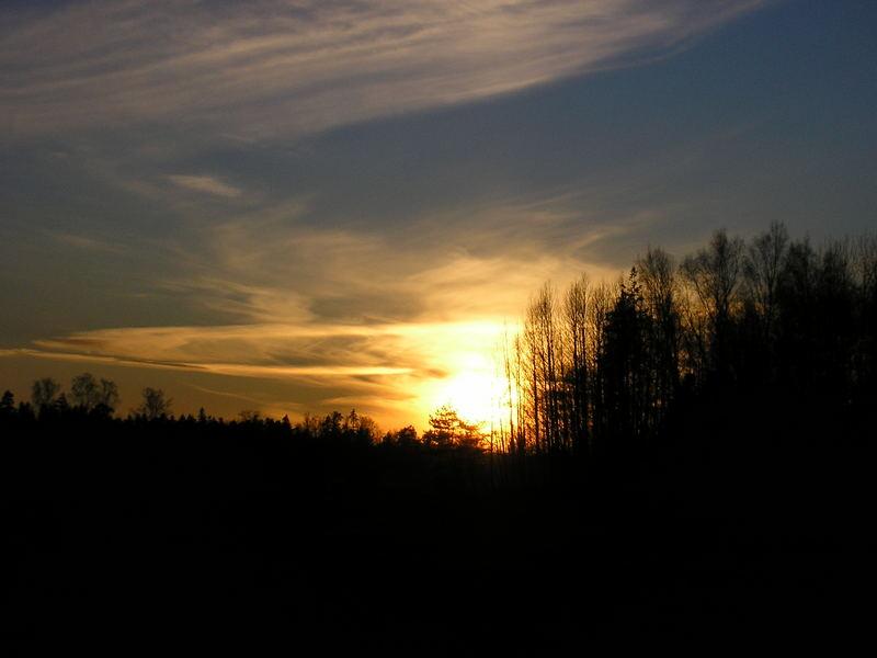 Nachmittags in Finnland!!