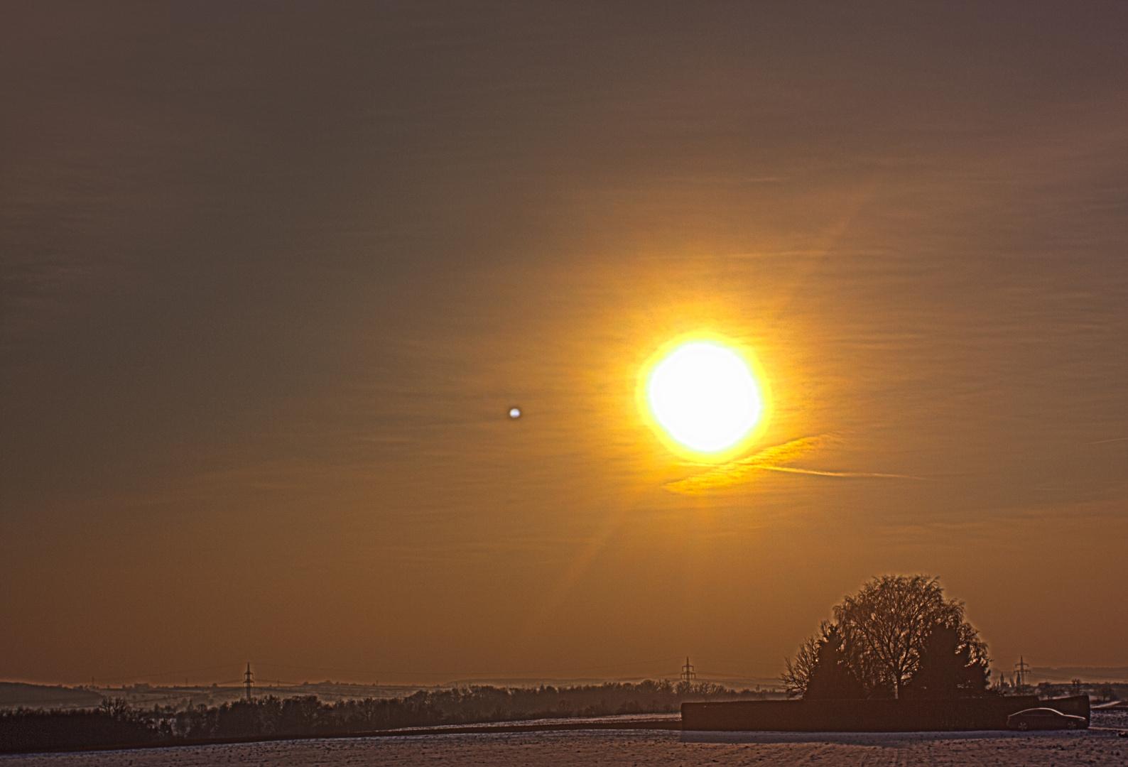 Nachmittagssonne im Winter