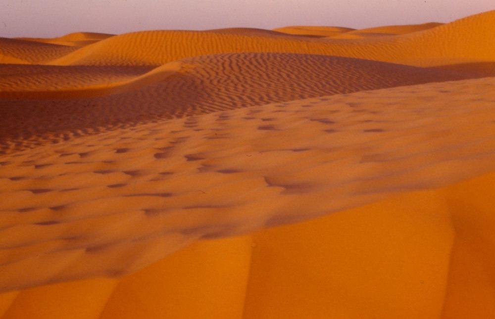 Nachmittagsstimmung tunesische Wüste