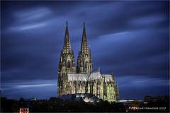 Nacht am Dom zu Kölle .... UNESCO-Weltkulturerbe.
