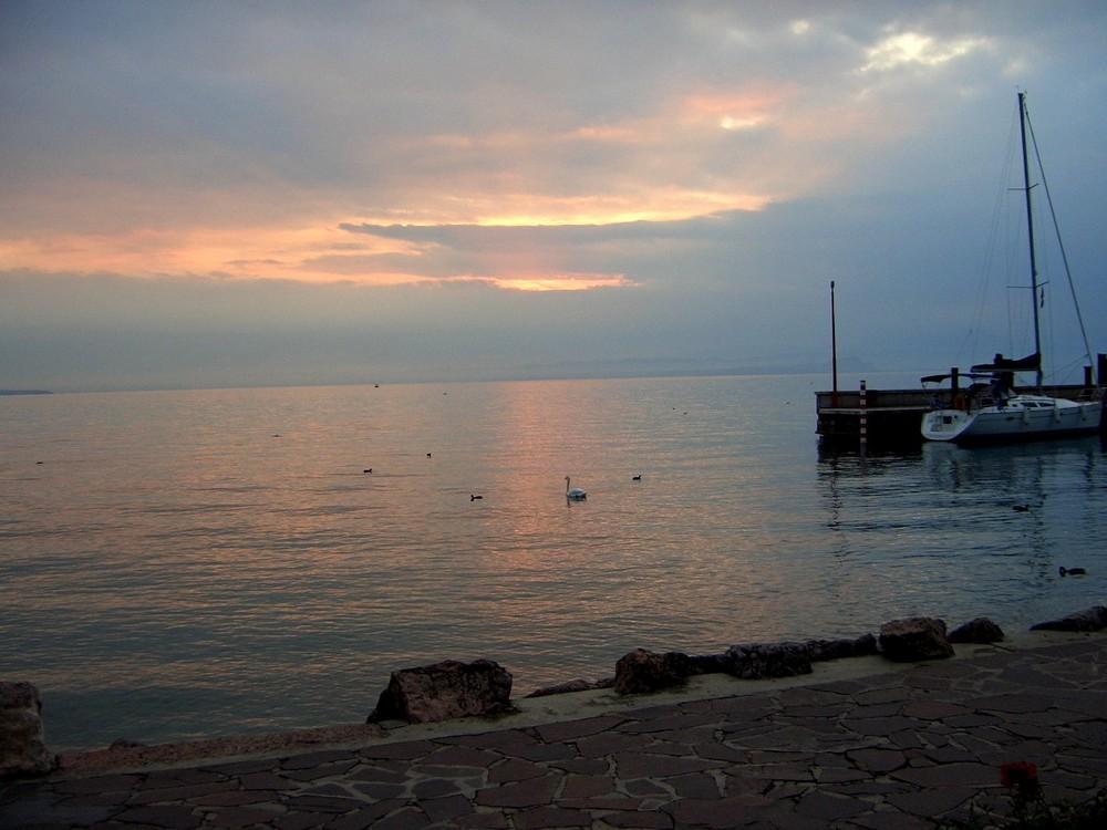 Nacht am Gardasee