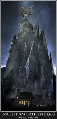 nacht am kahlen berg