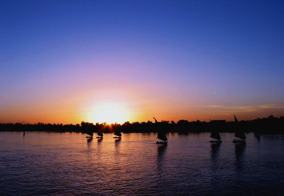 Nacht am Nil