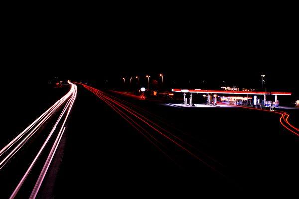 Nacht an der A1 (Münster)