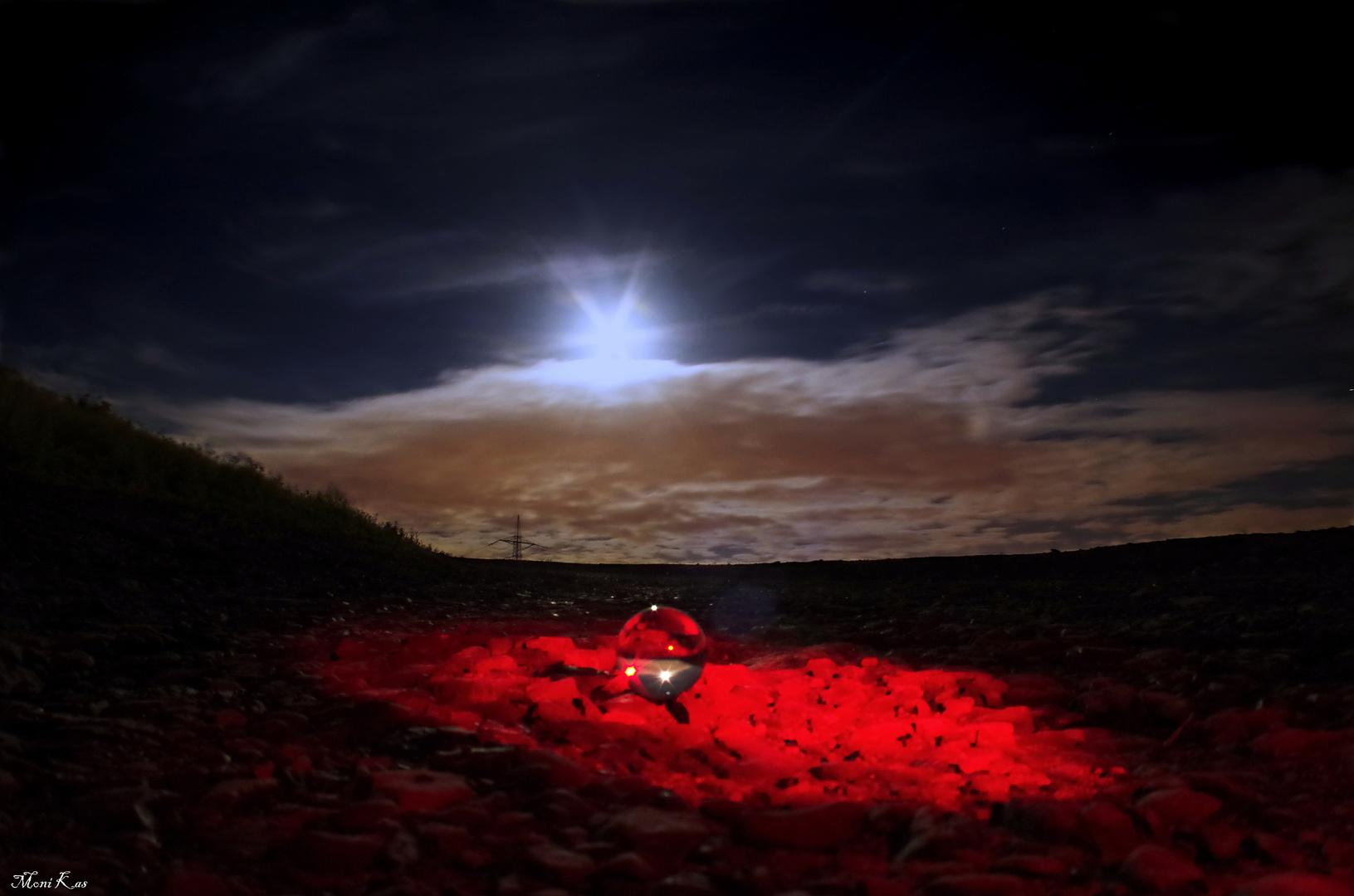 Nacht auf der Halde