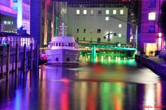 Nacht der Lichter im Hamburger Seehafen