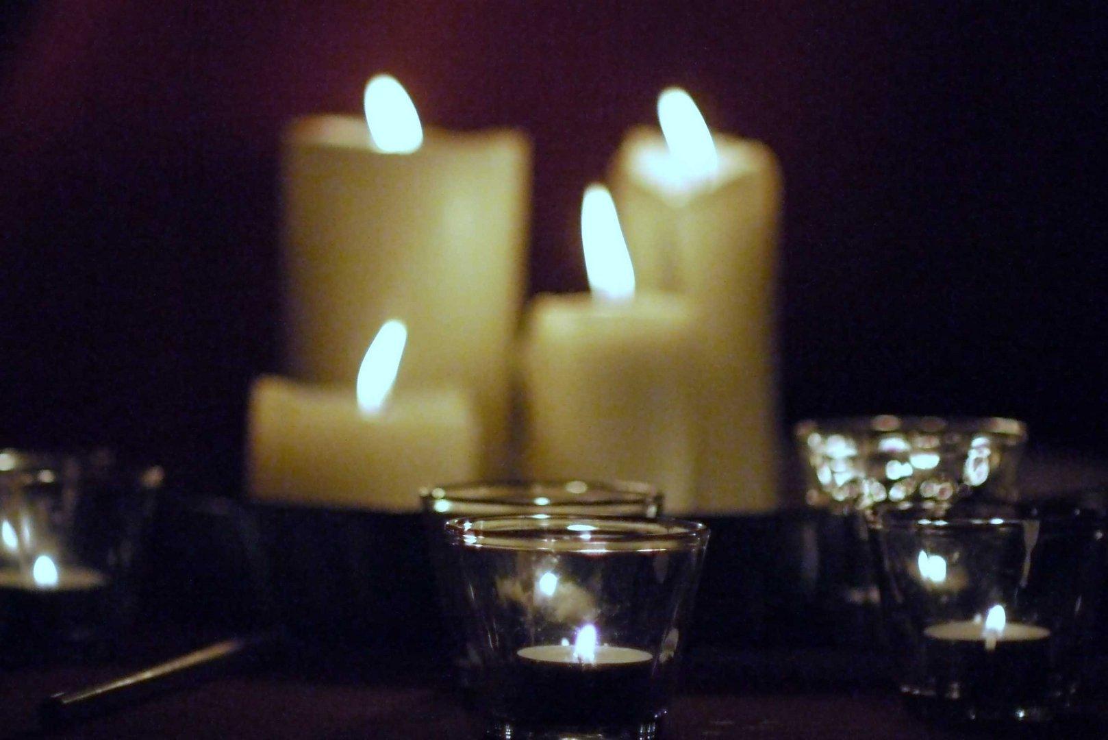 Nacht der Lichter in einer Nürnberger Kirchengemeinde November 2012