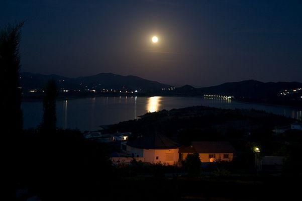 Nacht im Mondschein