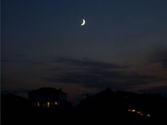 Nacht in Canada