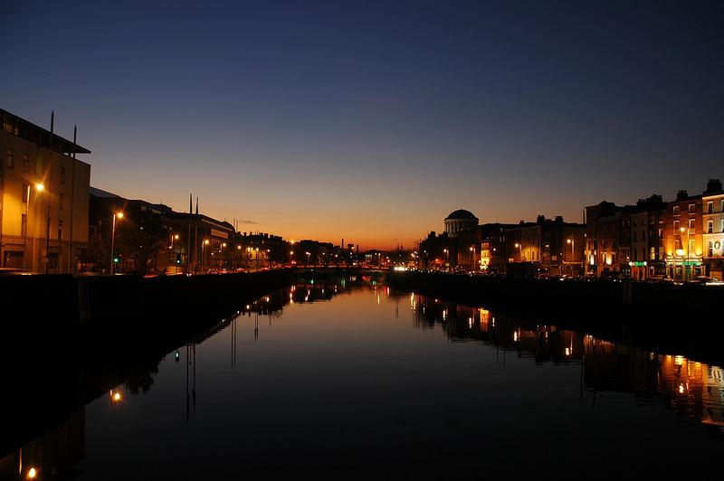 Nacht in Dublin