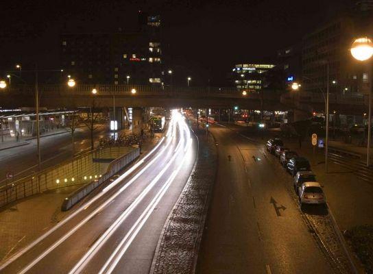 Nacht in Freiburg