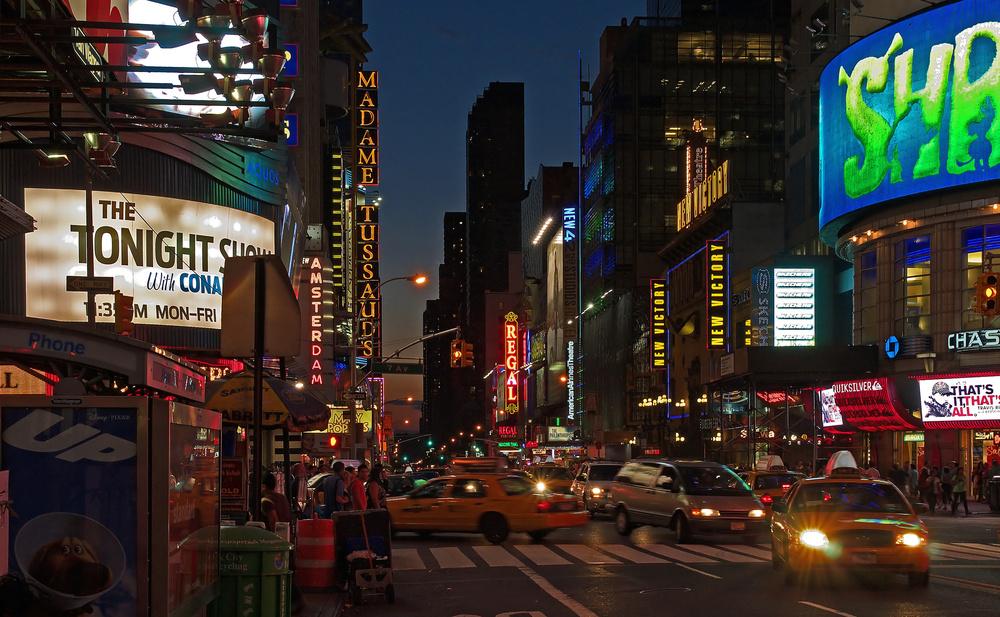 Nacht in Manhattan