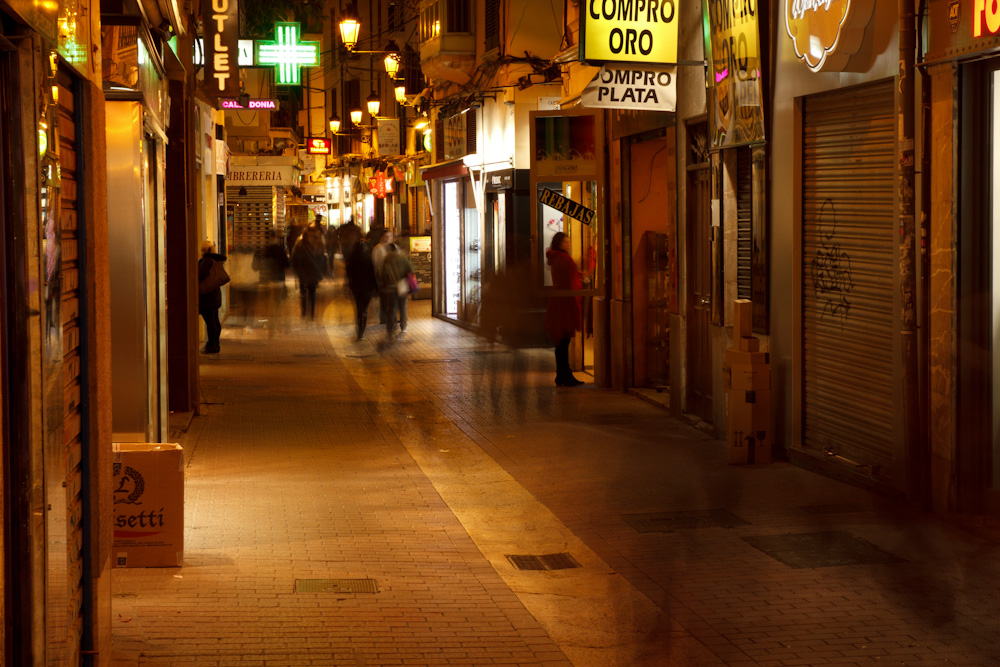 Nacht in Palma