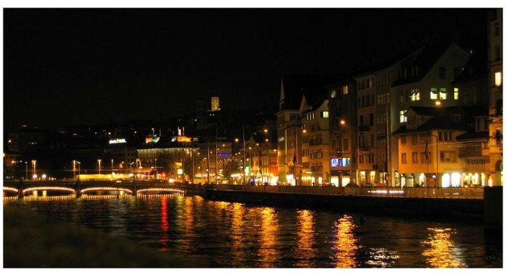 Nacht in Zürich