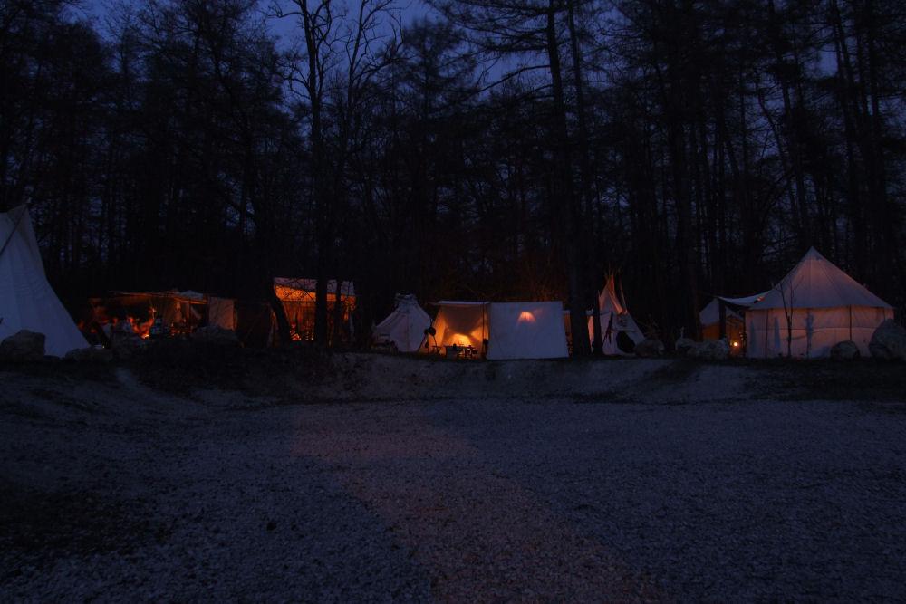 Nacht-Lager