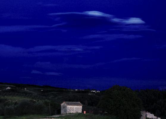 Nacht, Toskana
