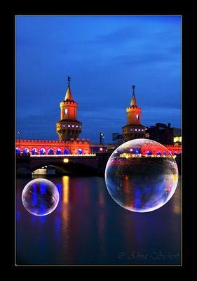 Nacht, Träume, Seifenblasen