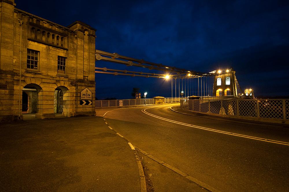 Nacht über Bangor