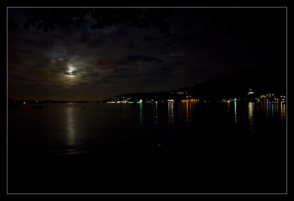 Nacht über dem Lago