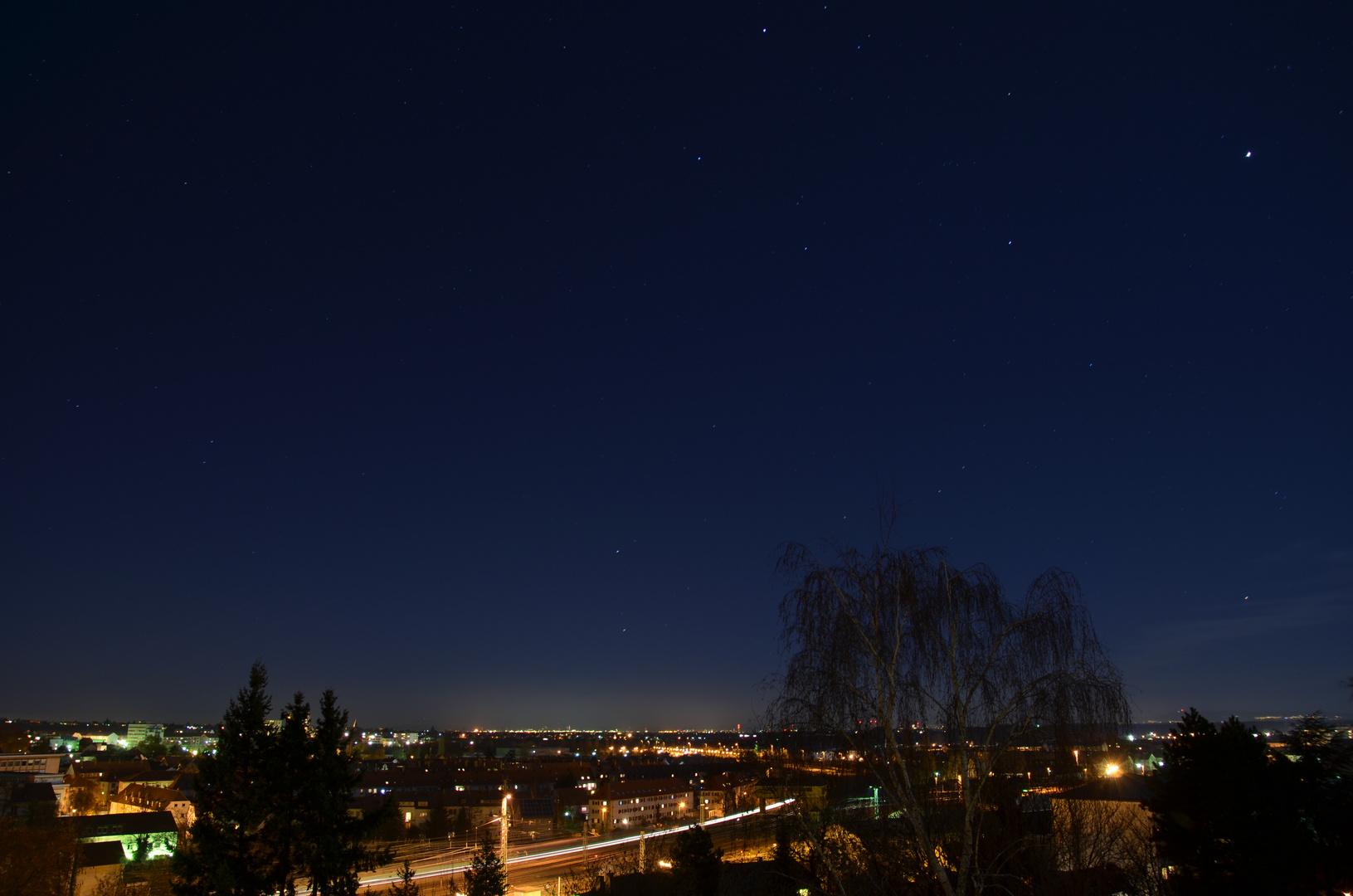 Nacht über der Rheinebene II
