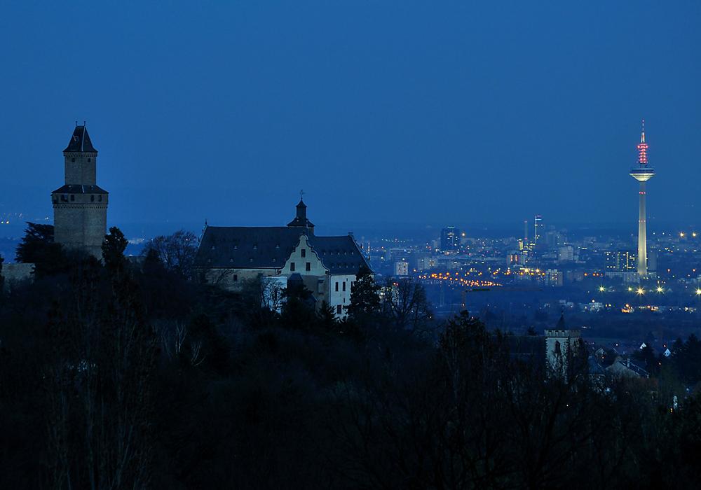 Nacht über Kronberg
