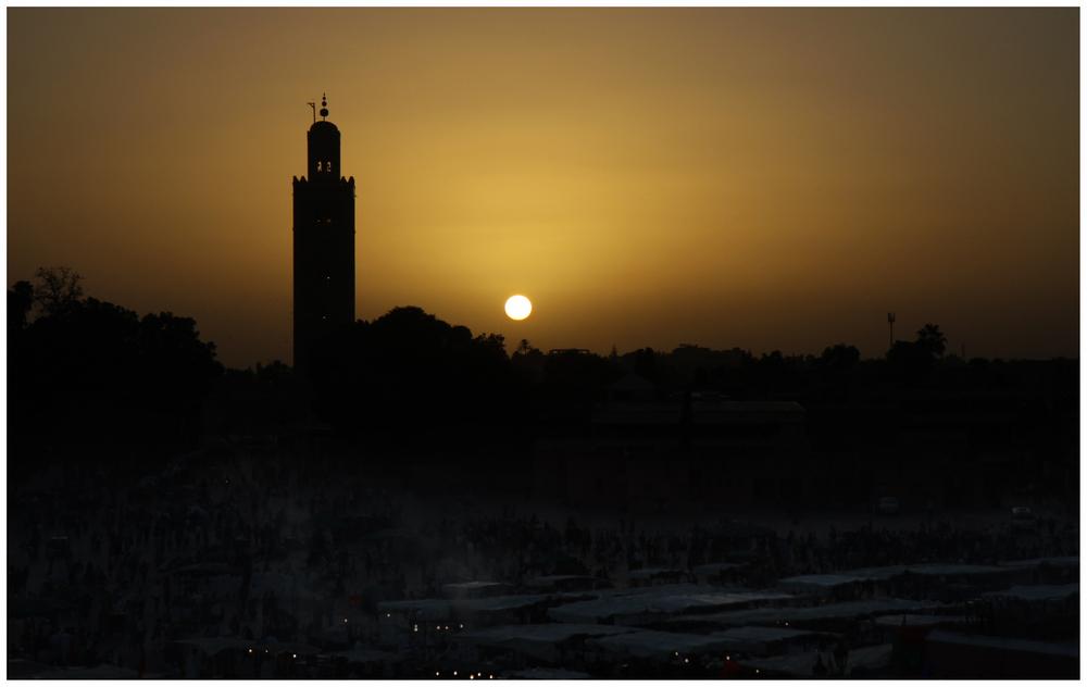 Nacht über Marrakech