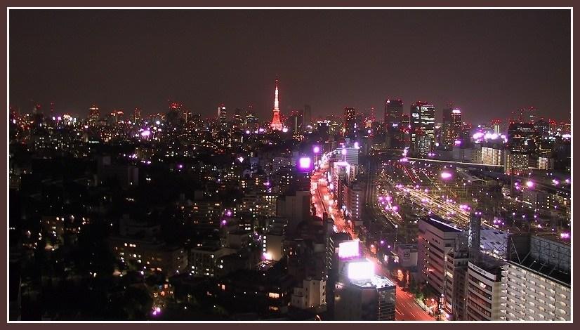 Nacht über Tokio