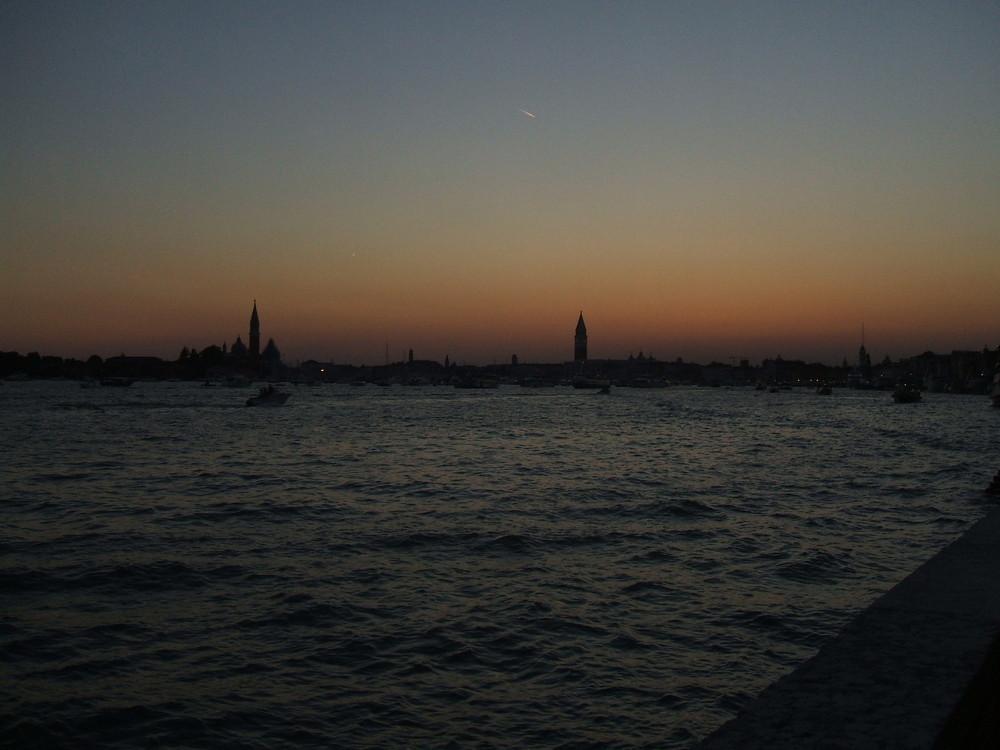 Nacht über Venedig